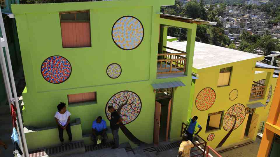 Building A More Resilient Haiti Unops